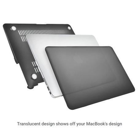 you olixar toughguard macbook air 13 inch hard case black specifications