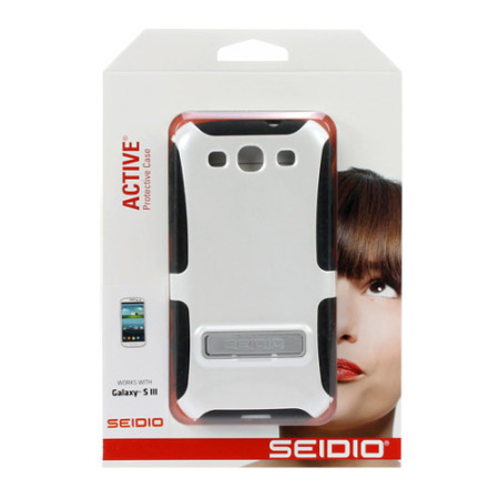 Seidio Dilex Case for Samsung Galaxy S3 with Kickstand - White