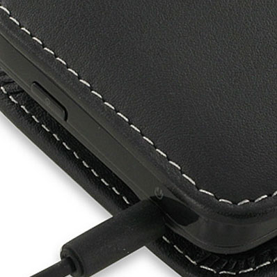 PDair Leather Vertical Case for Huawei Ascend G300