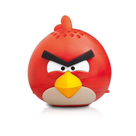 gear4 angry birds g4pg778g mini speaker red bird. Black Bedroom Furniture Sets. Home Design Ideas