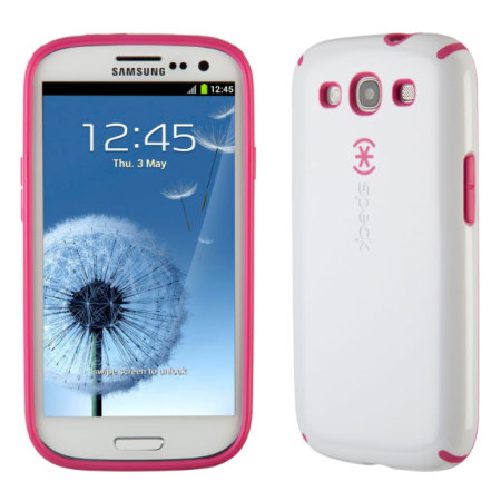 promo code 2e758 12d41 Speck CandyShell Case for Samsung Galaxy S3 - White/Pink
