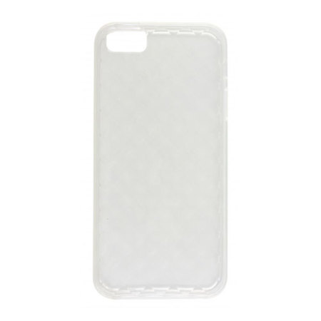 newest e2a7e 2ee99 Pro-Tec Quilted Glacier TPU Case for iPhone 5S / 5 - Clear