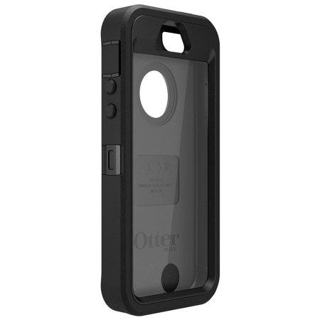 otterbox defender series iphone 5s 5 case black. Black Bedroom Furniture Sets. Home Design Ideas