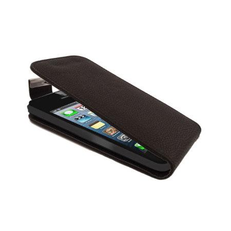 iphone 5s 5 flip case black. Black Bedroom Furniture Sets. Home Design Ideas