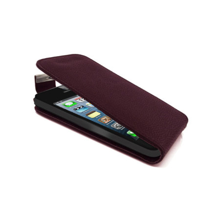 iPhone 5S / 5 Flip Case - Purple