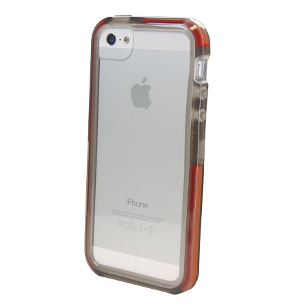 tech 21 iphone 5s tech21 d3o impact band for iphone 5s 5 smoke 16253