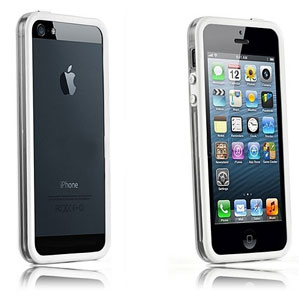 Bumper Case For Iphone 5s 5 White Clear