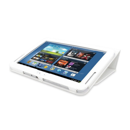 Adarga Folio Stand Samsung Galaxy Note 10.1 Case - White