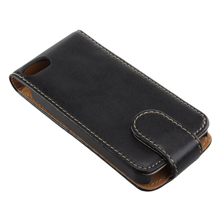 Leather style flip case for iphone 5s 5 - Iphone 5s leather case ...