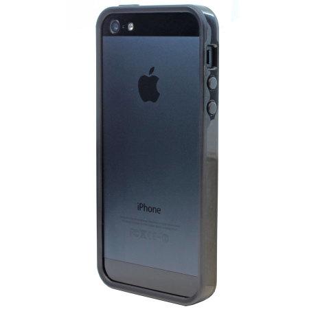promo code b216a 6f0a1 Gear4 G4IC506G iPhone 5S / 5 Rubber Bumper Case - Black