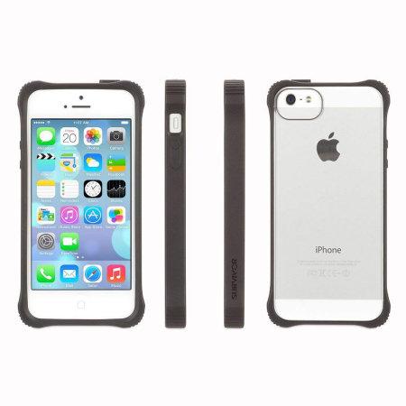 Griffin Survivor Case For iPhone 5S / 5 - Black