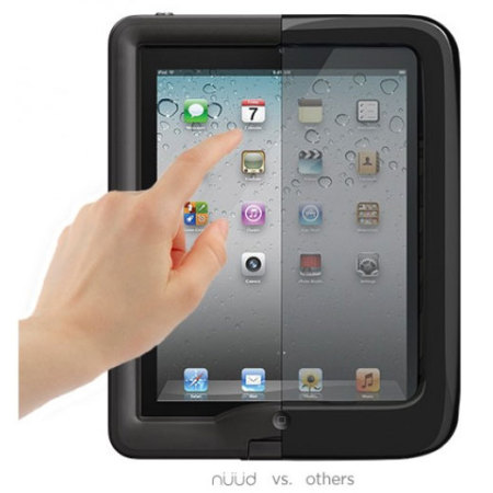 LifeProof Nuud Case for iPad 4 / 3 / 2 - Black
