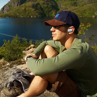 Casque Bluetooth Stereo Avantree Sacool – Blanc / Bleu