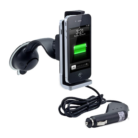 Arkon SuperCharge Deluxe Power Mount for iPhone 4 / 4S