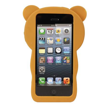 iphone 5s 5 h lle teddy b r silikon case. Black Bedroom Furniture Sets. Home Design Ideas