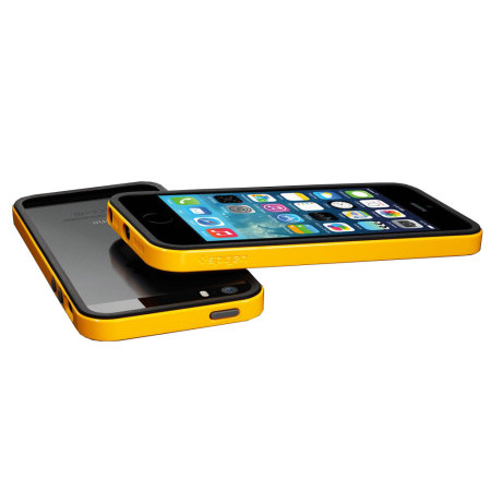 Spigen SGP Neo Hybrid EX for iPhone 5S / 5 - Yellow / Black