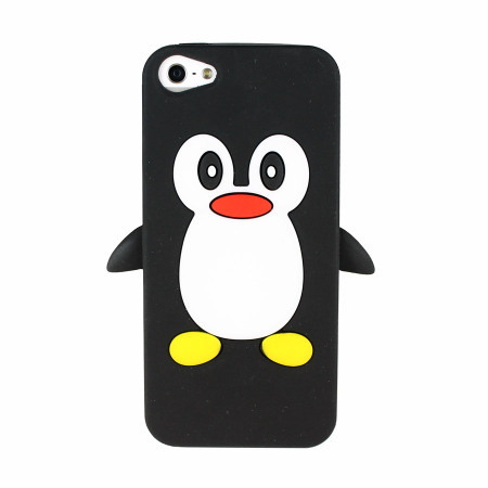 Penguin Silicone Case for iPhone 5S / 5