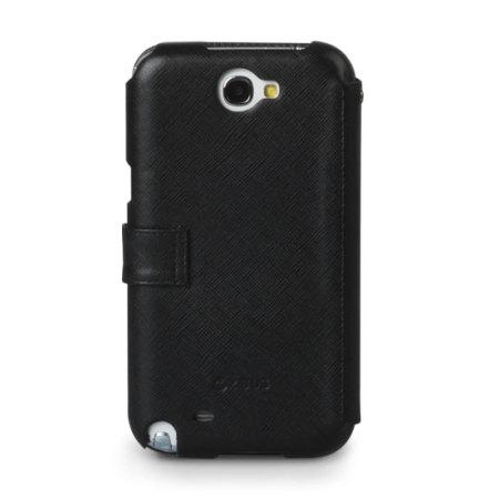 Zenus Samsung Galaxy Note 2 Minimal Diary Series Case - Black
