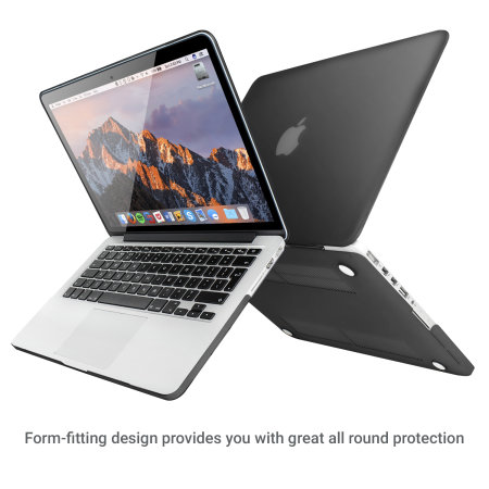 ToughGuard MacBook Pro Retina 13 Inch Hard Case - Zwart