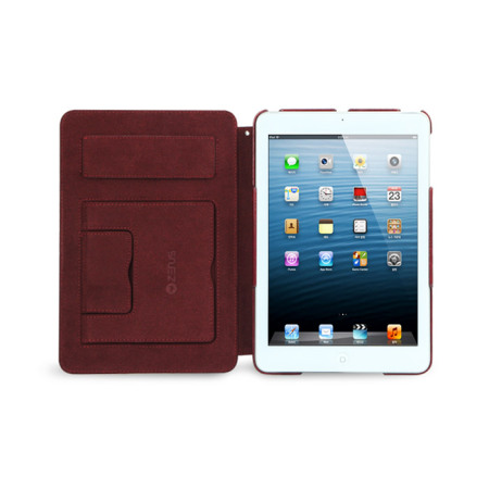 differentiates the zenus neo classic diary for ipad mini 3 2 1 wine red smartphone