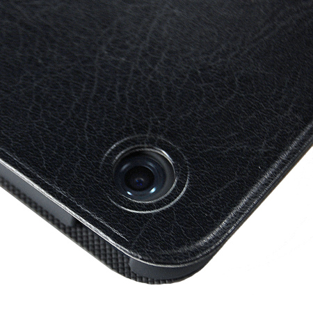 Macally iPad Mini 3 / 2 / 1 Rotating Folio Case with Stand- Black