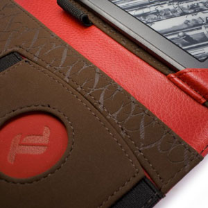 Tuff-Luv Embrace Plus Case for Kindle Fire HD 2012 - Red