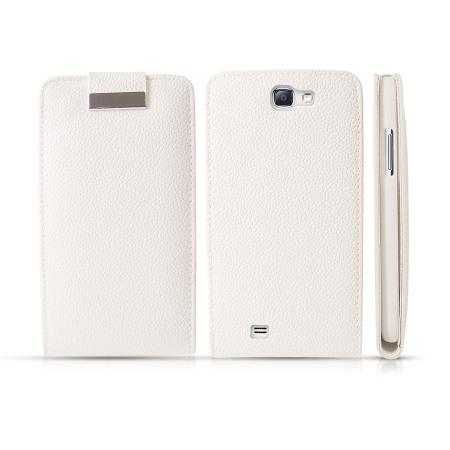 Samsung Galaxy Note 2 White Samsung Galaxy Note 2 Leather