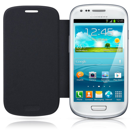 Flip Cover officielle Samsung Galaxy S3 Mini – EFC-1M7FBEC –Bleue
