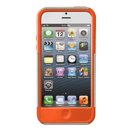 x doria shield case for iphone 5 orange reviews comments. Black Bedroom Furniture Sets. Home Design Ideas