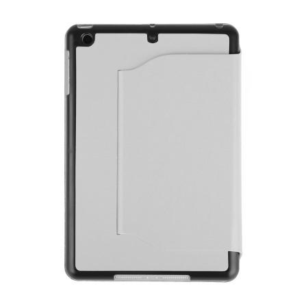 iPad Mini 2 / iPad Mini Ultra-Thin Leather Case with Stand - White