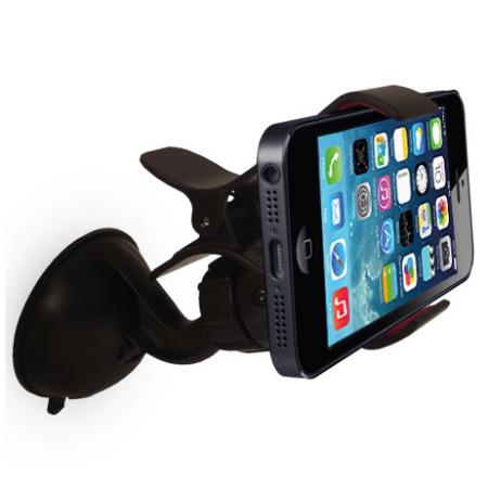 gripmount iphone 5s 5 kfz halterung und ladeger t. Black Bedroom Furniture Sets. Home Design Ideas