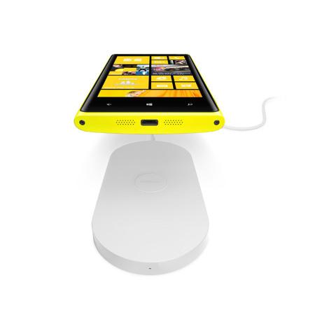 plaque de chargement sans fil nokia lumia 820 920 dt 900wh blanche. Black Bedroom Furniture Sets. Home Design Ideas