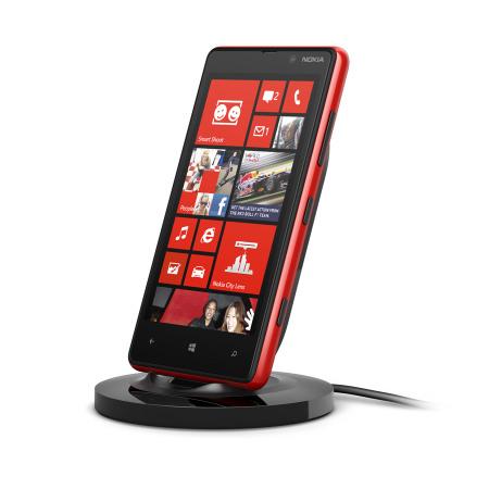 Nokia Lumia 820 / 920 Qi Wireless Charging Stand - DT-910BK - Black