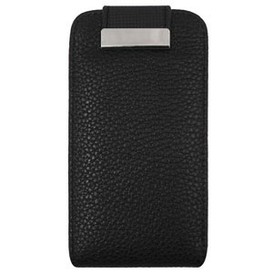 Samsung Galaxy S3 Mini Flip Case - Black