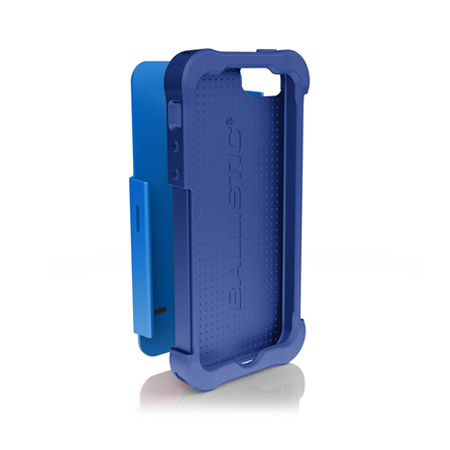 Ballistic Shell Gel Case for iPhone 5S / 5 - Blue