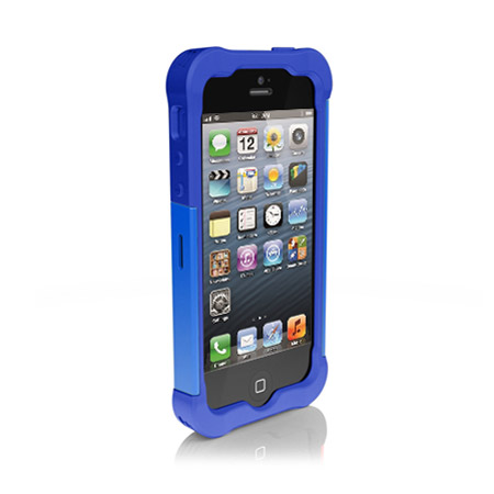 size 40 ffe11 1a760 Ballistic Shell Gel Case for iPhone 5S / 5 - Blue
