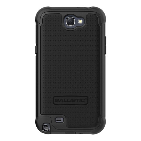 Ballistic Shell Gel Case for Samsung Galaxy Note 2 - Black
