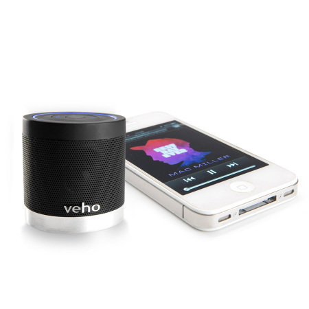Veho 360 M4 Bluetooth Wireless Speaker - Black