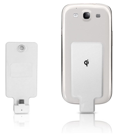 Qi Micro USB Wireless Charging Adapter Clip
