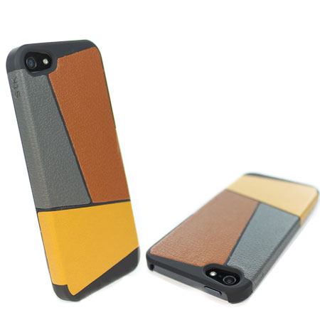 STK Art Deco Case for iPhone 5S / 5 - Brown