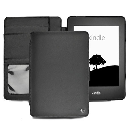 Housse kindle paperwhite noreve tradition noire for Housse kindle paperwhite