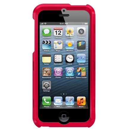 super popular 957f1 f3df3 Trident Apollo 2-in-1 Snap-on Case for iPhone 5S / 5 - Red/Black