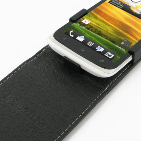 PDair Leather Flip Case - HTC Desire X