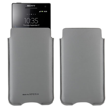 Sony Xperia Z SMA9127G Bumper Protection Pack - Grey