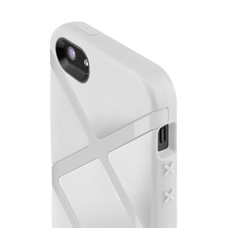 SwitchEasy Bonds Hybrid Case for iPhone 5S / 5 - White