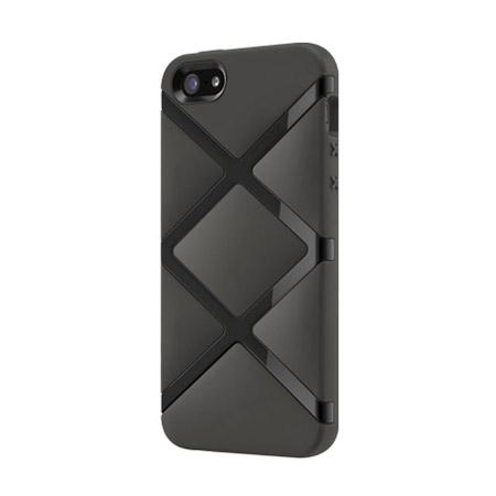 SwitchEasy Bonds Hybrid Case for iPhone 5S / 5 - Black