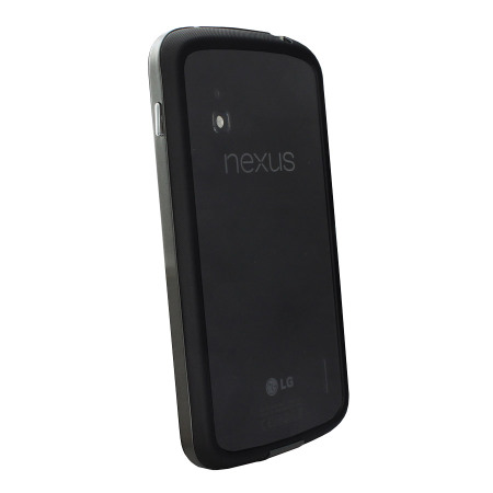 GENx Hybrid Bumper Case for Google Nexus 4 - Black