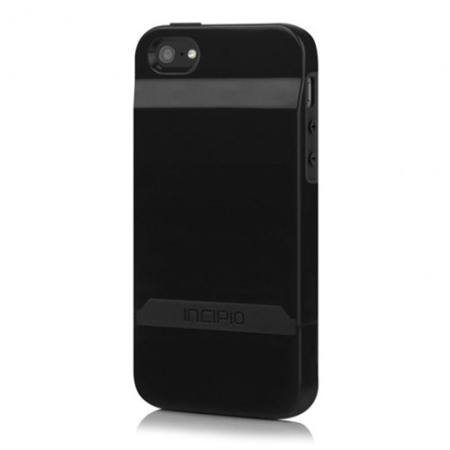 new product eb9a0 dcbf1 Incipio Stashback Credit Card Case for iPhone 5S / 5 - Black