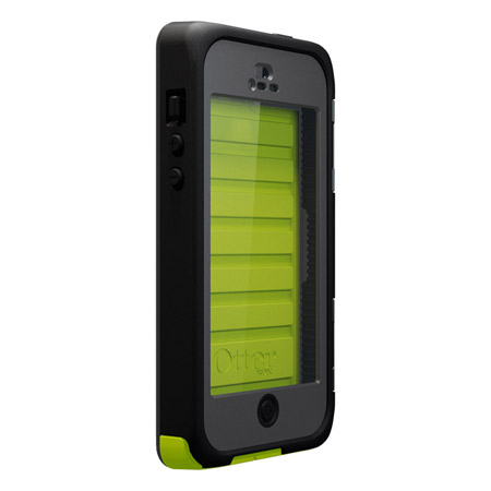 waterproof case for iphone 5 otterbox armor series waterproof for iphone 5 neon 18174