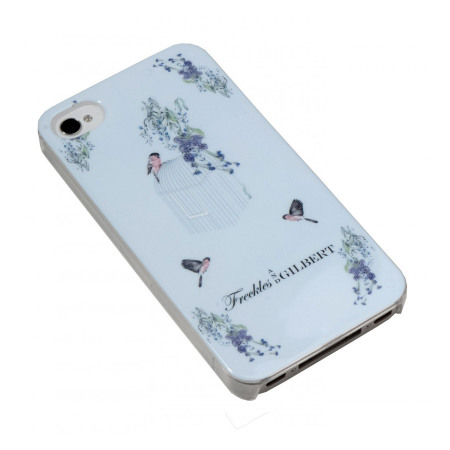 Coque iPhone 5S / 5 Freckles and Gilbert - La cage aux oiseaux Wisteria
